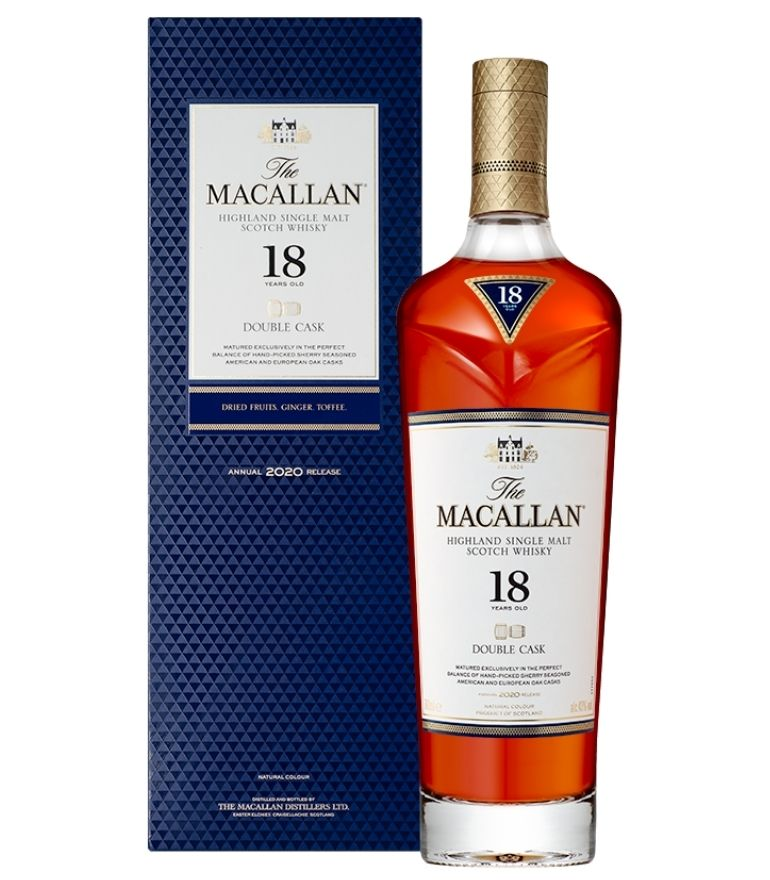 The Macallan 18Yrs Double Cask 70cl
