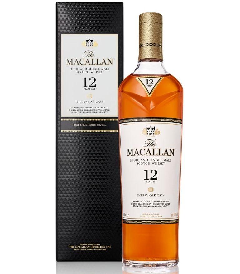 The Macallan 12Yrs Sherry Oak 70cl