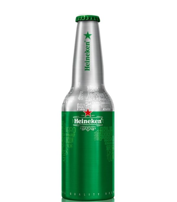 Heineken Star Aluminium Bottle 33cl x 24