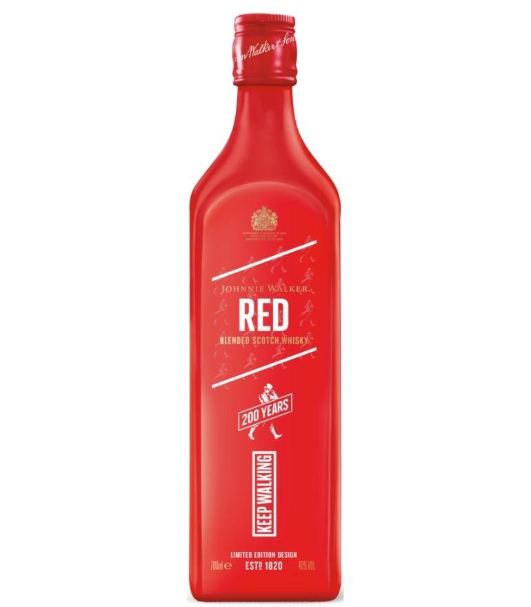 Johnnie Walker Red Label 200 Year Edition 70cl