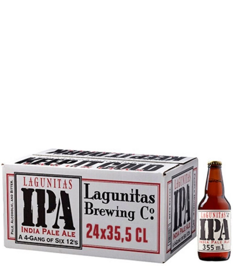 Lagunitas Ipa Craft Beer 35.5cl Case X 24