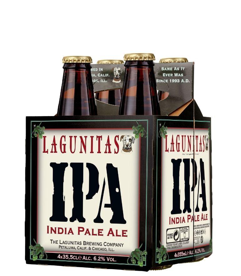 Lagunitas Ipa Craft Beer 35.5cl Pack X 4