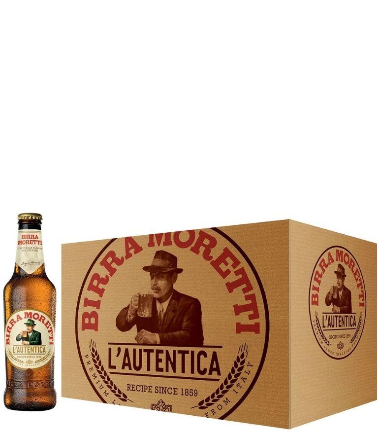 Birra Moretti 33cl Bottle Case X 24
