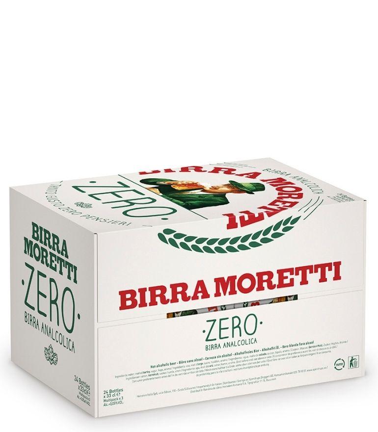 Birra Moretti Zero 33cl Case X 24