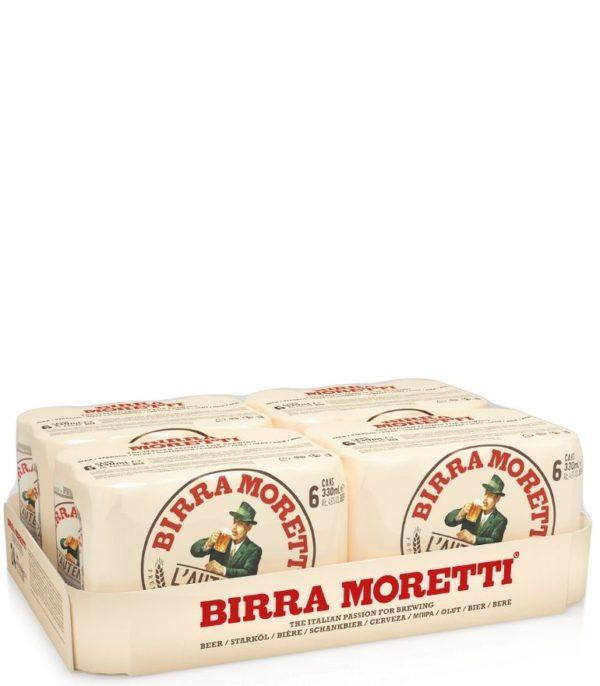 Birra Moretti 33cl Can Case X 24