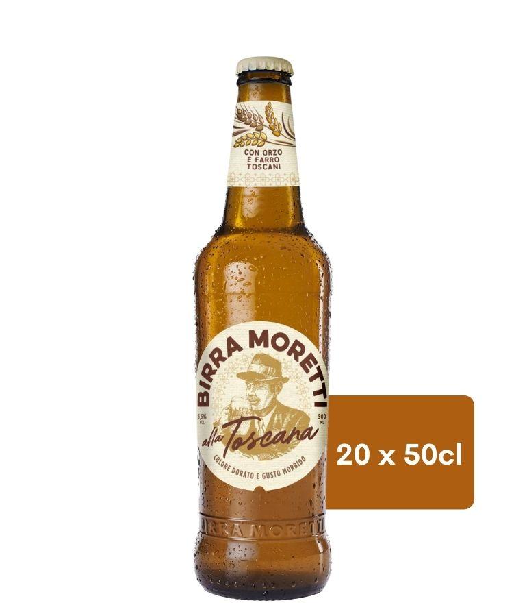 Birra Moretti Toscana 50cl Case X 20