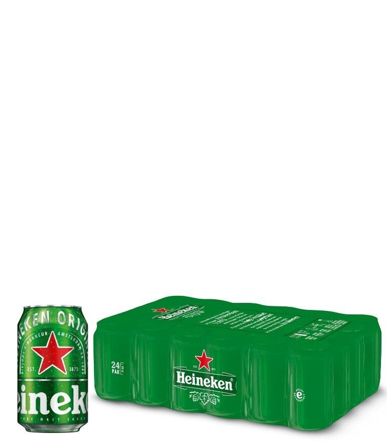 Heineken Lager 33cl Can Case X 24