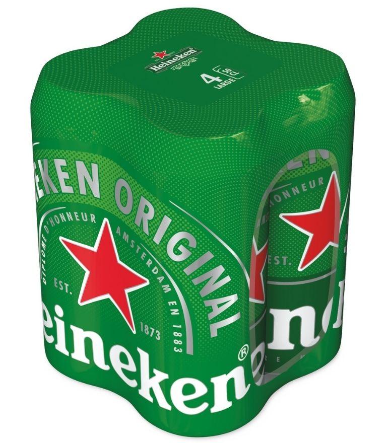 Heineken Lager 50cl Pack X 4