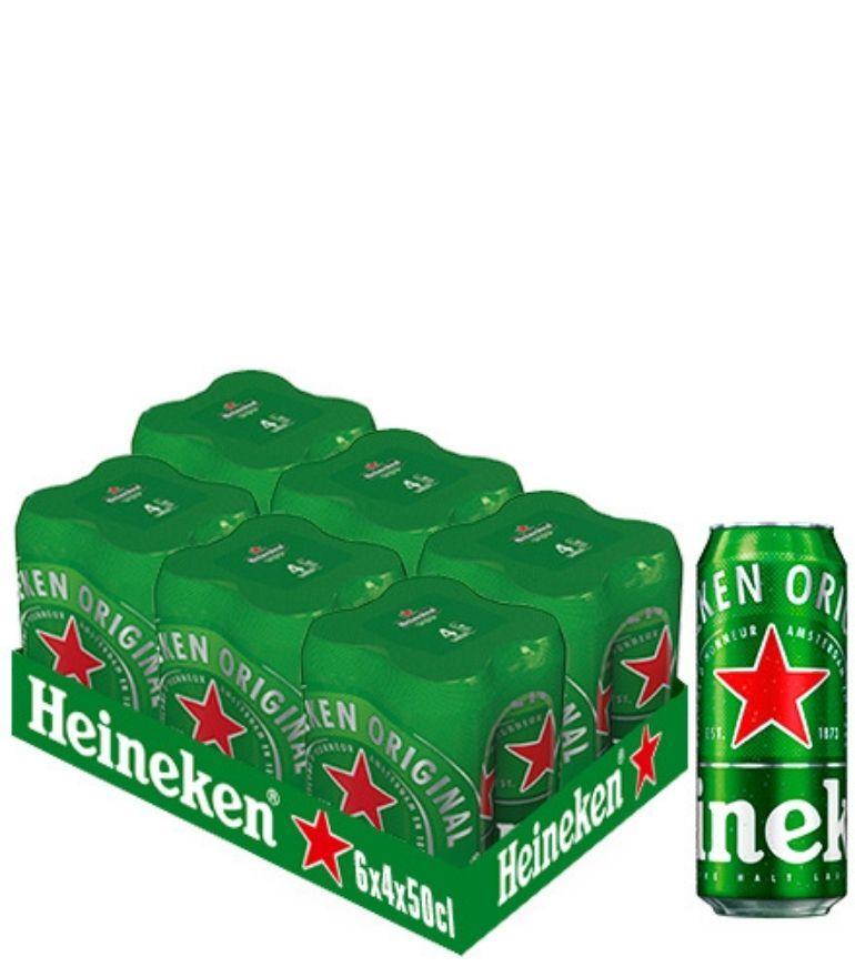 Heineken Lager 50cl Case X 24