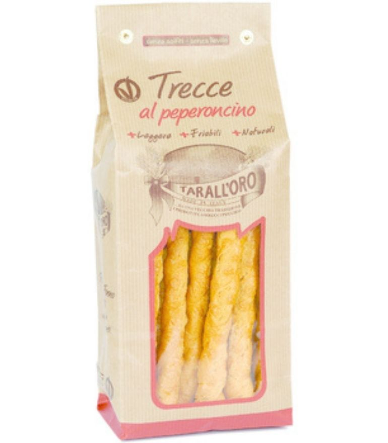 Tarall Oro Trecce Peperoncino 300g