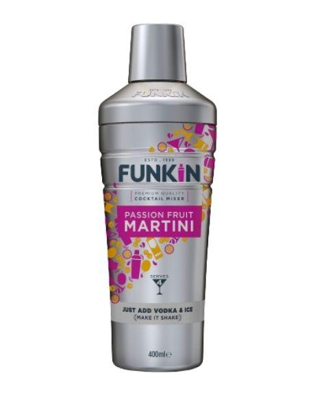 Funkin Passion Fruit Martini Shaker 40cl