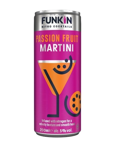 Funkin Passion Fruit Martini Can 20cl