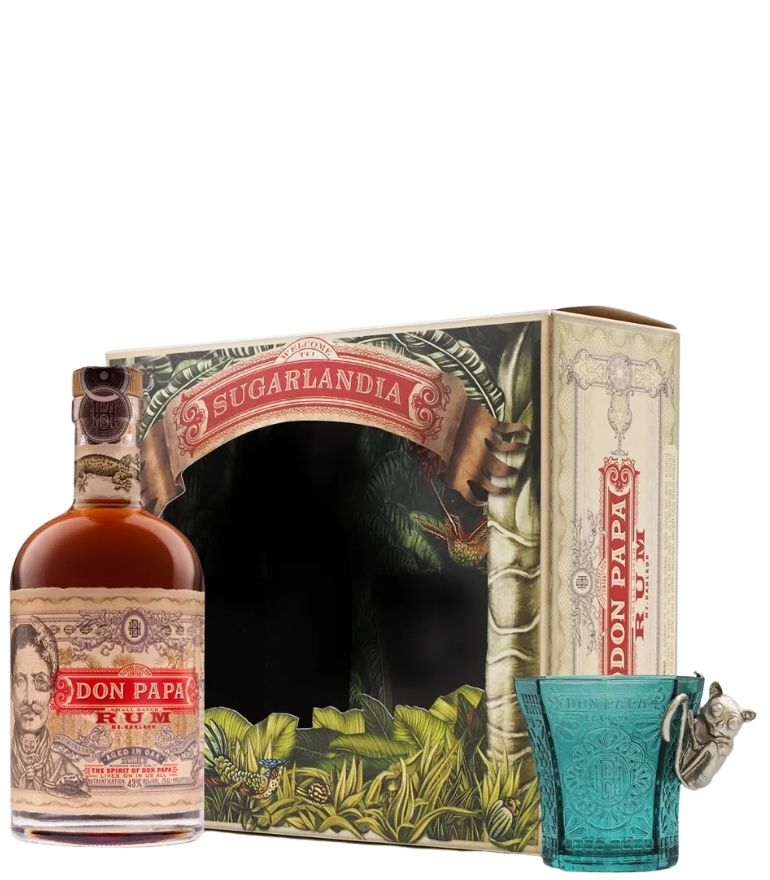 Don Papa Rum 70cl Gift Pack