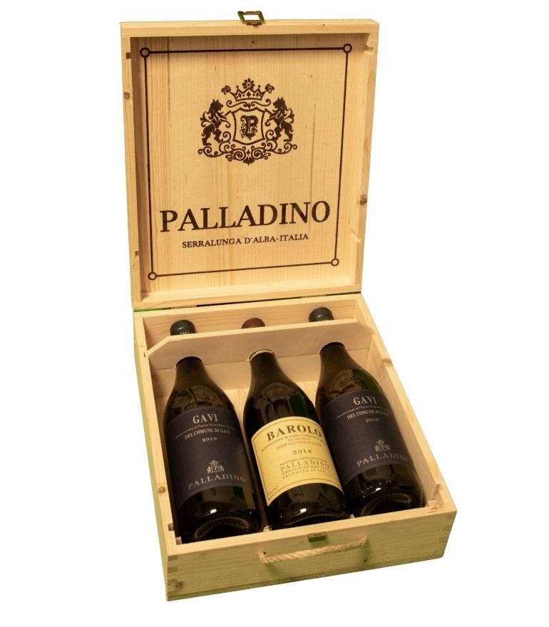 Palladino Wooden Box 3x75cl