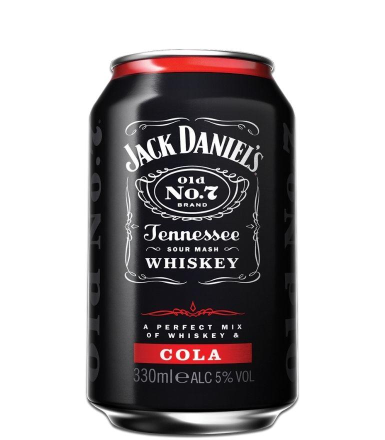 Jack Daniel's Jack & Cola 33cl Can x 1