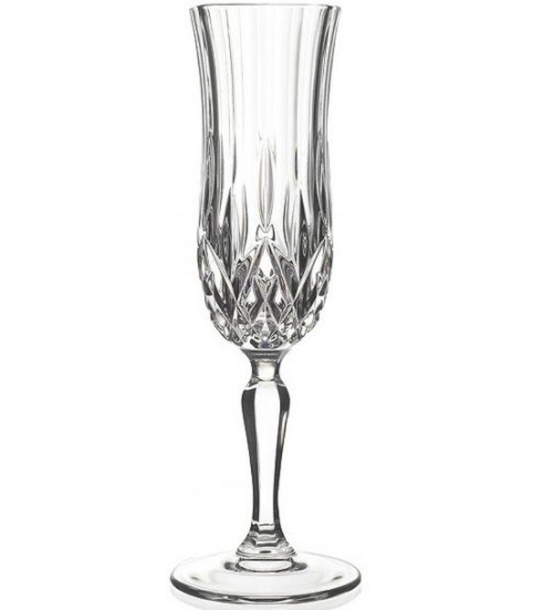 RCR Opera Champagne Flute glass set x6