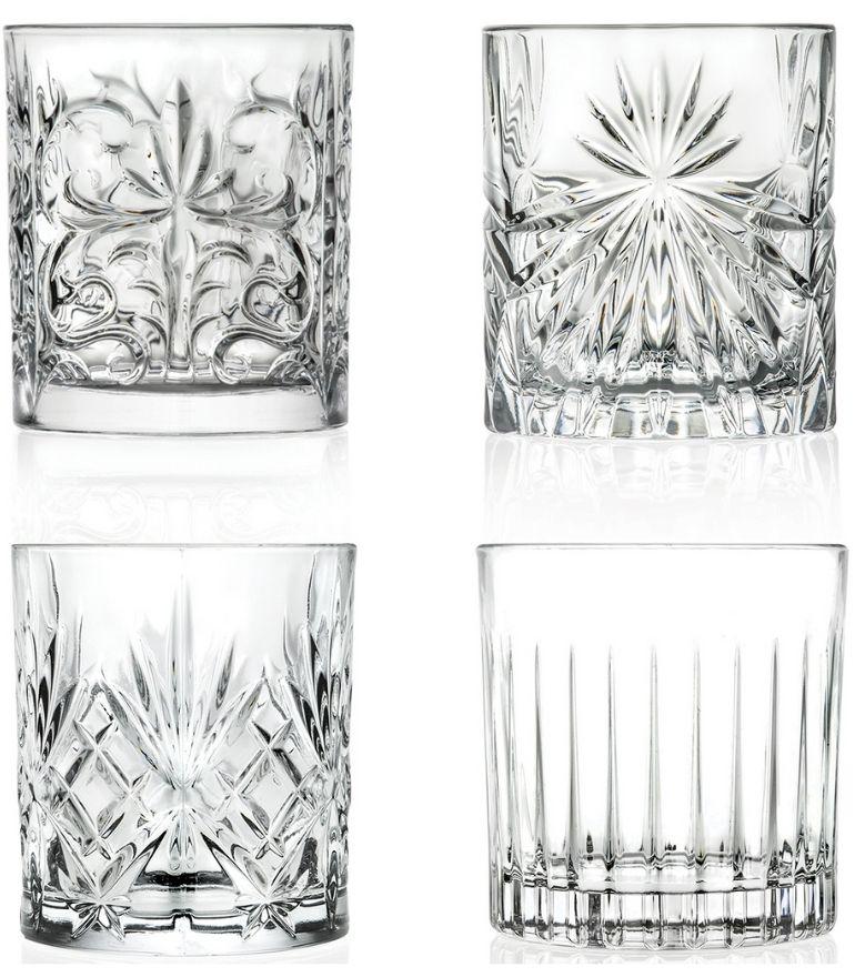 RCR Mixology Glass Set x4