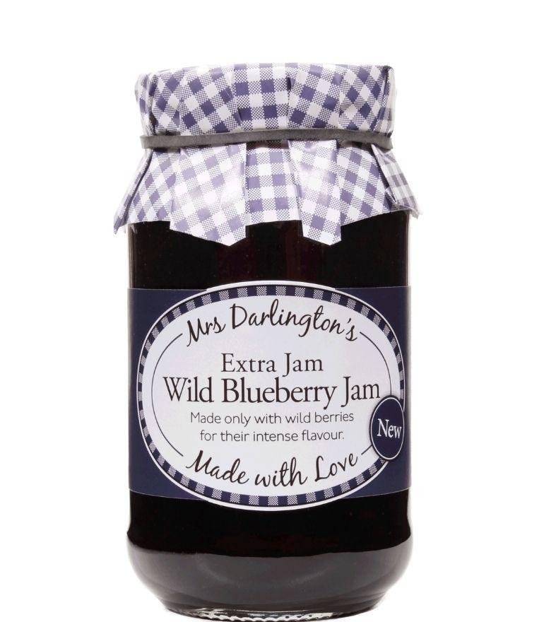 Darlingtons Wild Blueberry Jam 340G