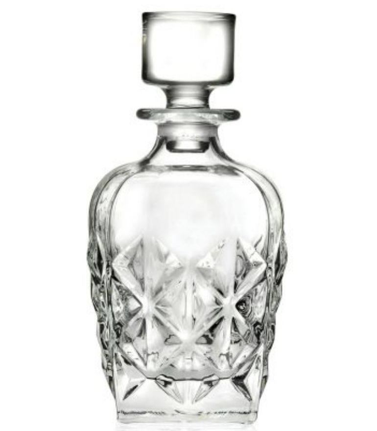 RCR Enigma Whisky Decanter with stopper 86cl