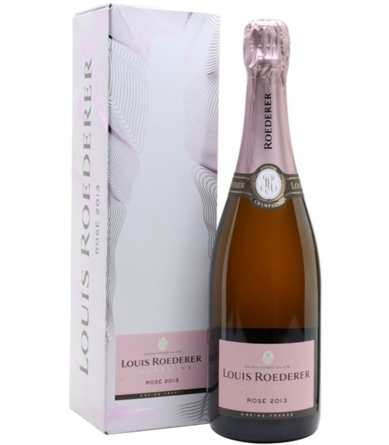 Louis Roederer Brut Rose Champagne in Carton 75cl