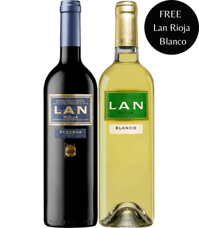 Lan Rioja Pack 75cl x2 Bottles