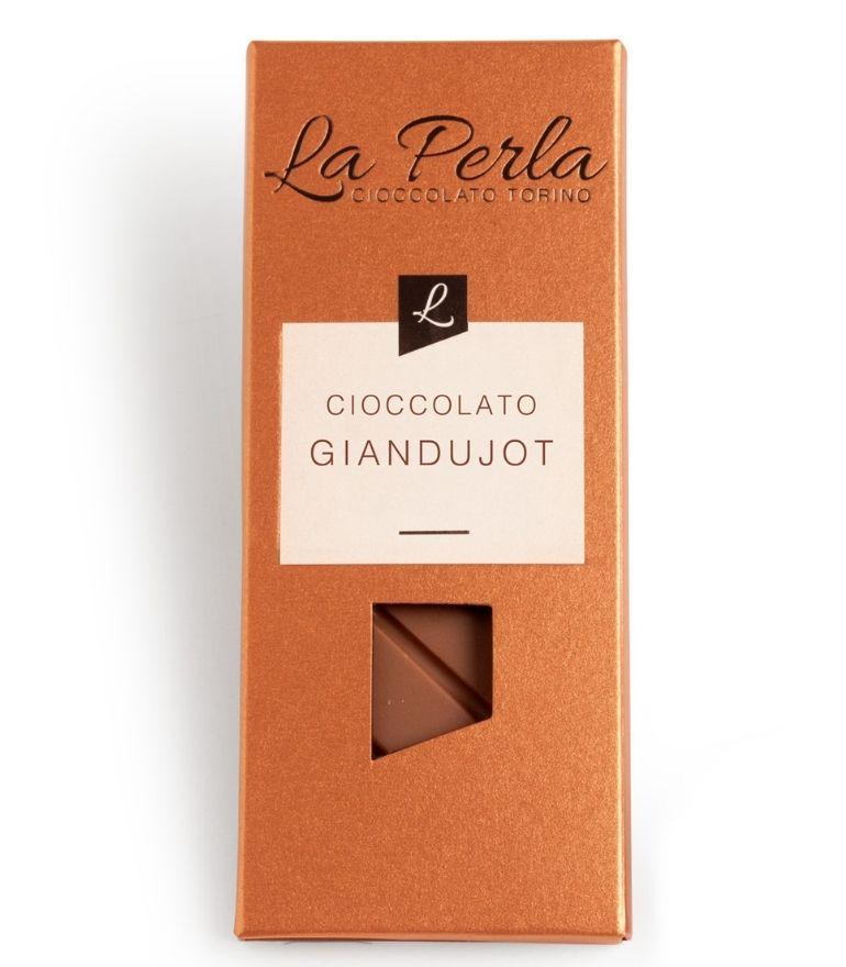 La Perla Gianduja Chocolate Bar 60g