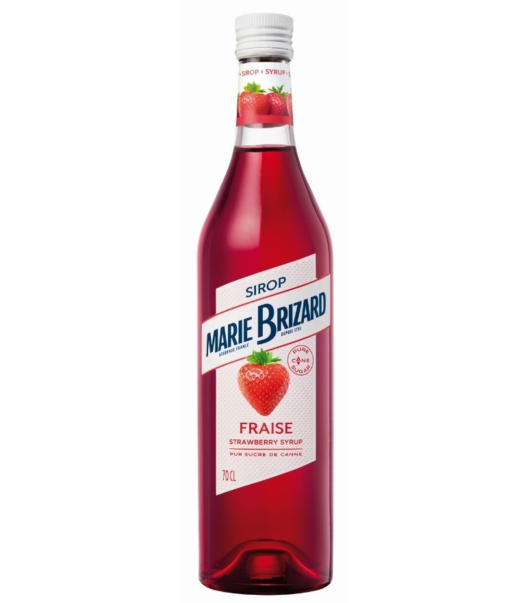 Marie Brizard Strawberry Syrup 70cl