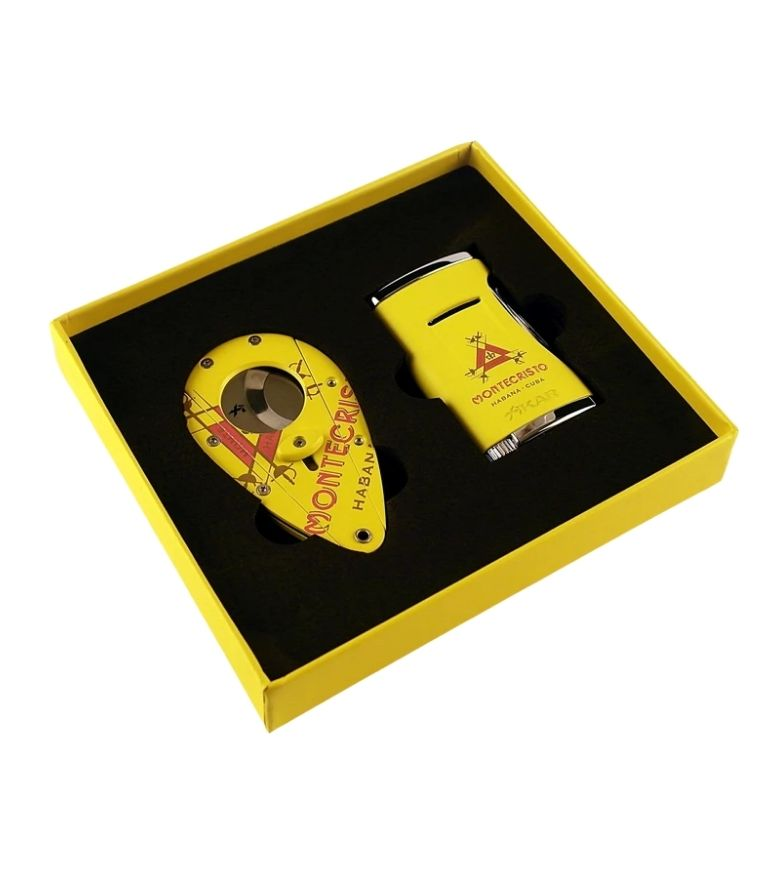 Montecristo MX Lighter and Cutter Set