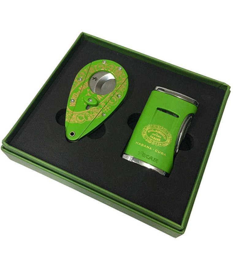Hoyo De Monterrey Lighter and Cutter Set