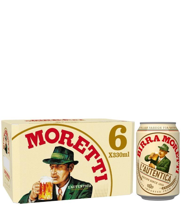 Birra Moretti 33cl Pack X 6