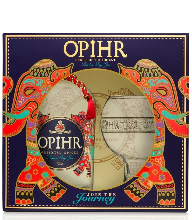 Opihr Dry Gin with Glass 70cl