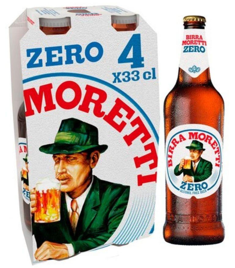 Birra Moretti Zero 33cl Pack X 4
