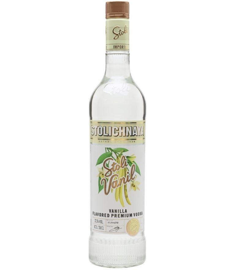 Stolichnaya Vanilla Flavoured Premium Vodka 70cl