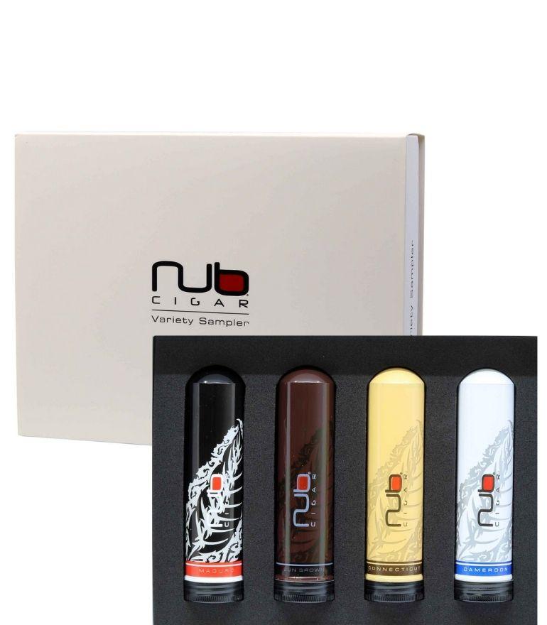 NUB Tubos Variety Sampler x4