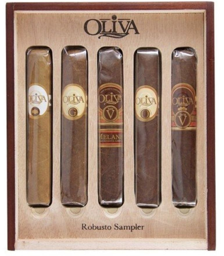 Oliva Robusto Sampler x4