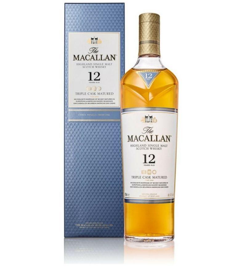 The Macallan 12 Yrs Triple Cask 70cl