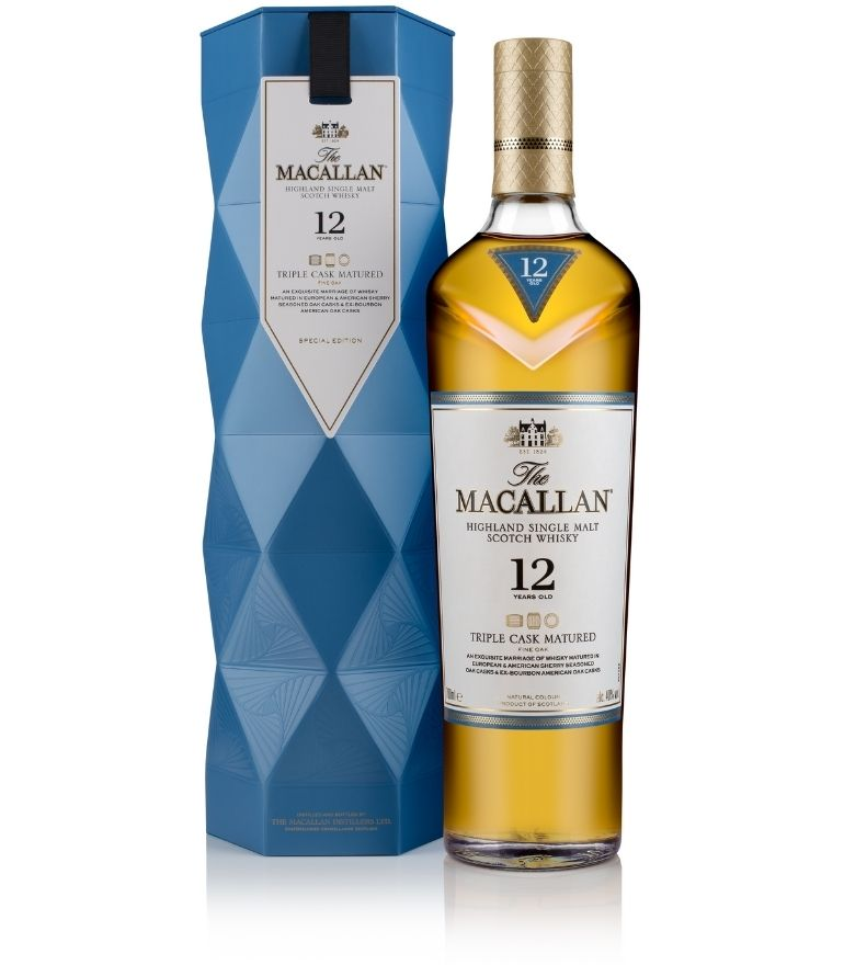 The Macallan 12 Yrs Triple Cask 70cl Special Edition