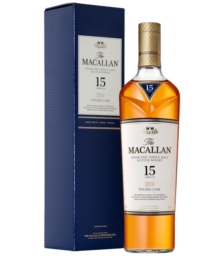 The Macallan 15 Yrs Double Cask 70cl