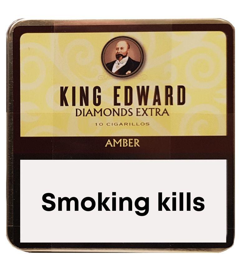 King Edward Diamonds Amber 10 x 10