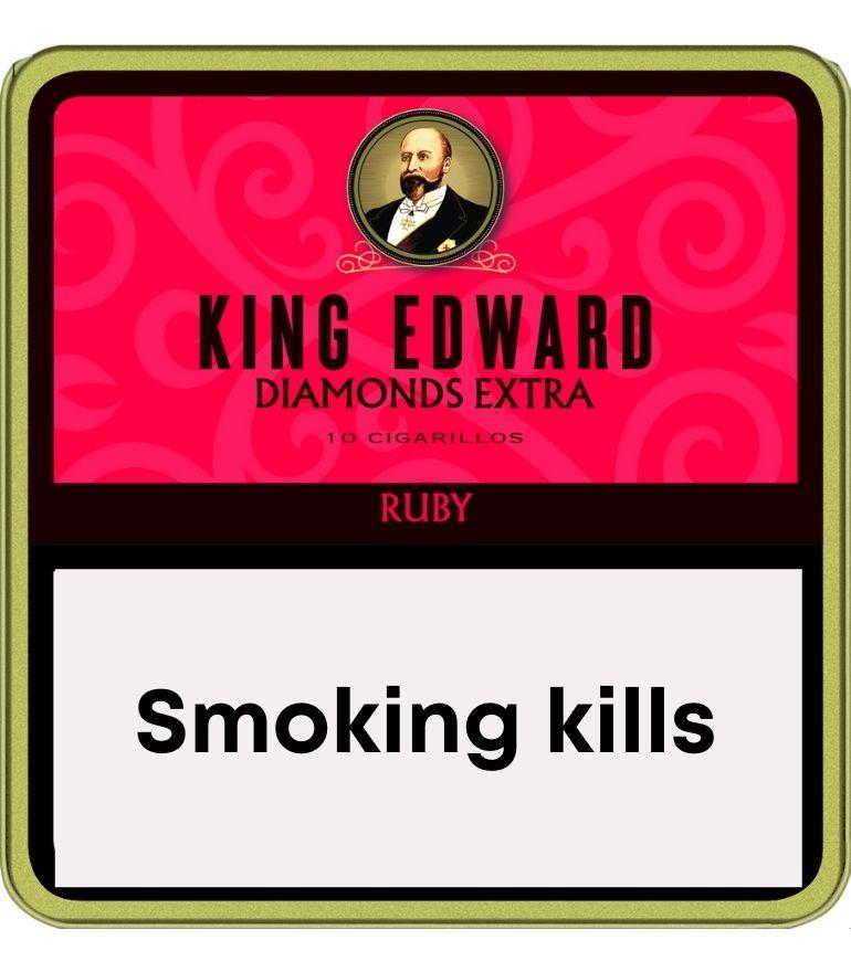 King Edward Diamonds Ruby 10 x 10