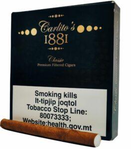 Carlito's 1881 Classic Premium Filtered Cigars x20