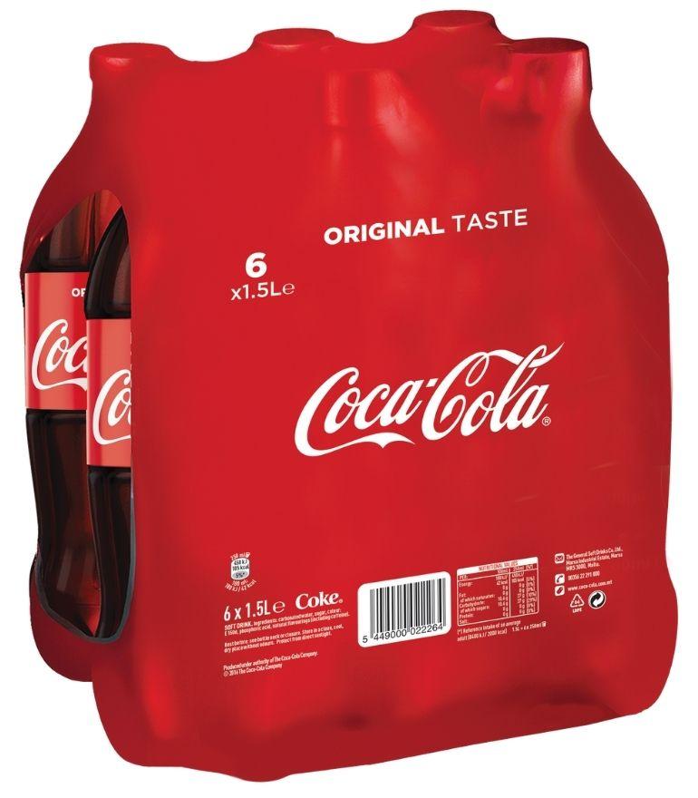 Coca Cola 1.5 Litre PET x 6