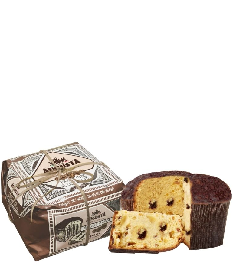 Augusta Hand Wrapped Chocolate Panettone 750g