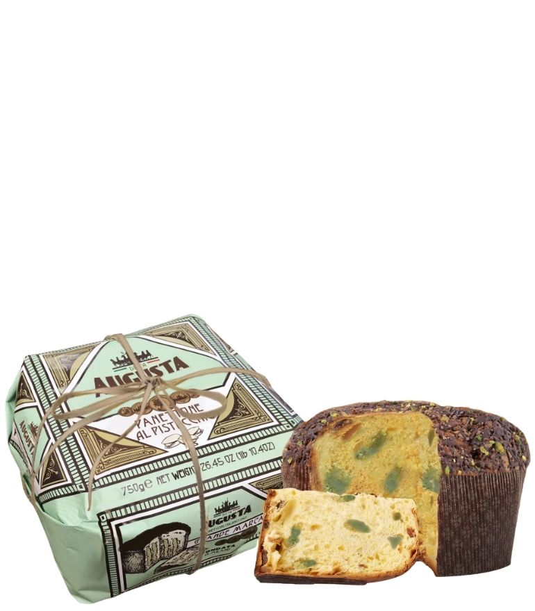 Augusta Hand Wrapped Pistachio Panettone 750g