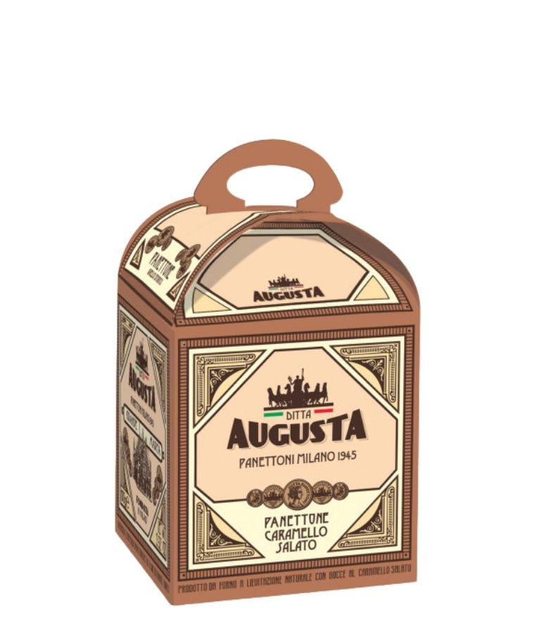 Augusta Salted Caramel Panettone 100g